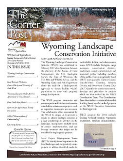 2016 Winter/Spring Cornerpost Newsletter