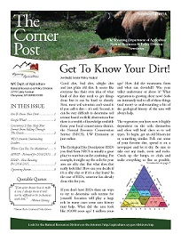 2014 Summer/Fall Cornerpost Newsletter